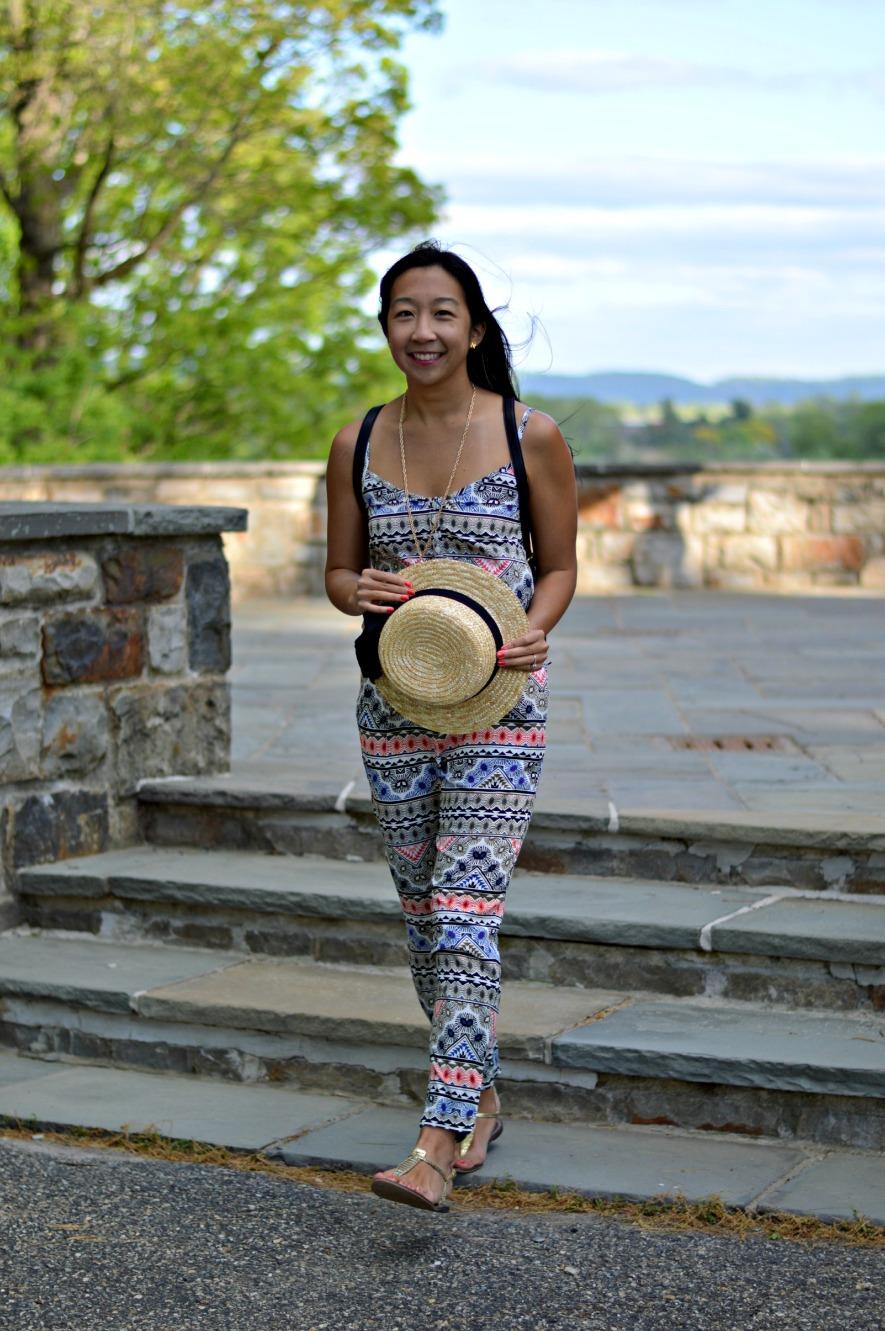 patterned jumpsuit 4